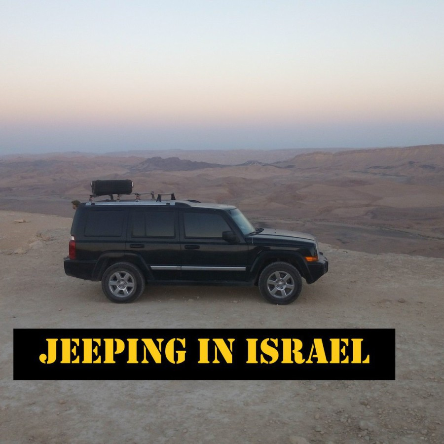 Jeeping in Israel