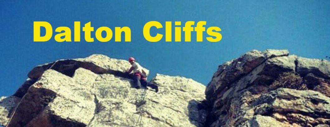 Rappelling in Israel - Dalton Cliffs